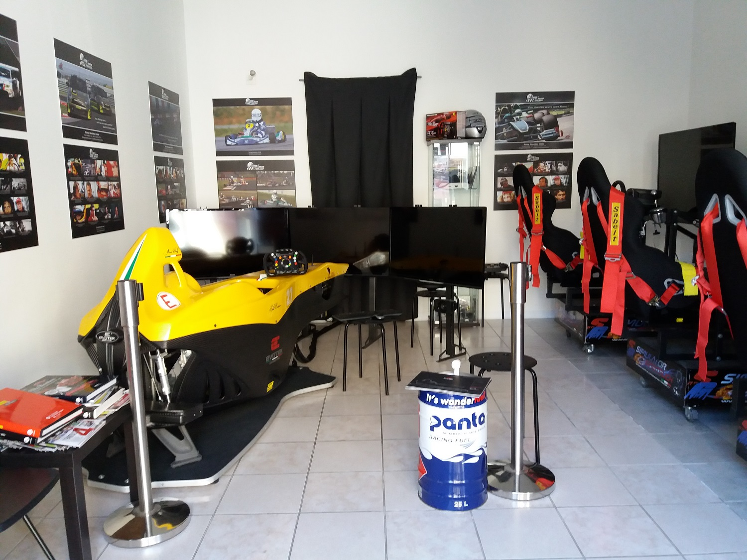 Franchising Driving Simulation Center