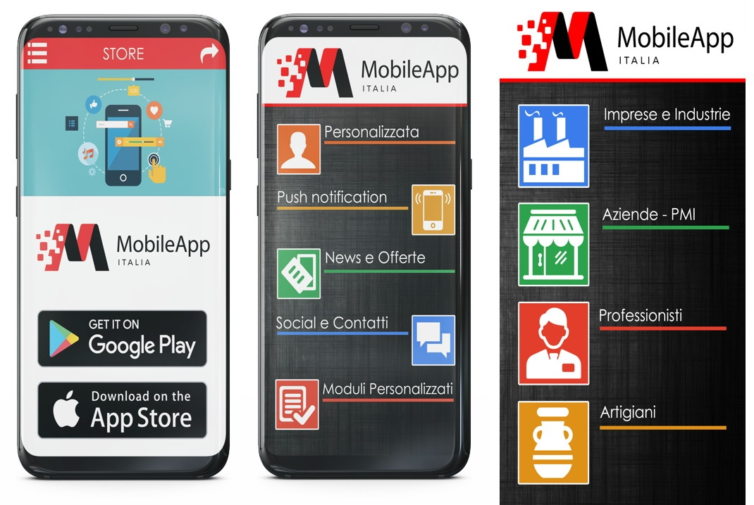 Mobile app italia franchising app informatica for Italia mobile