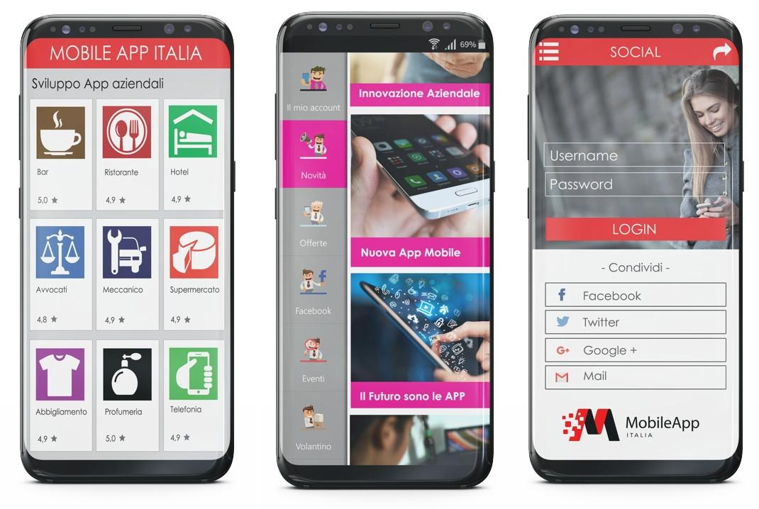 mobile app italia franchising app informatica