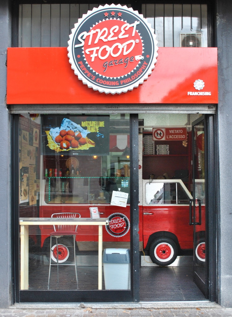 Franchising Street Food Garage