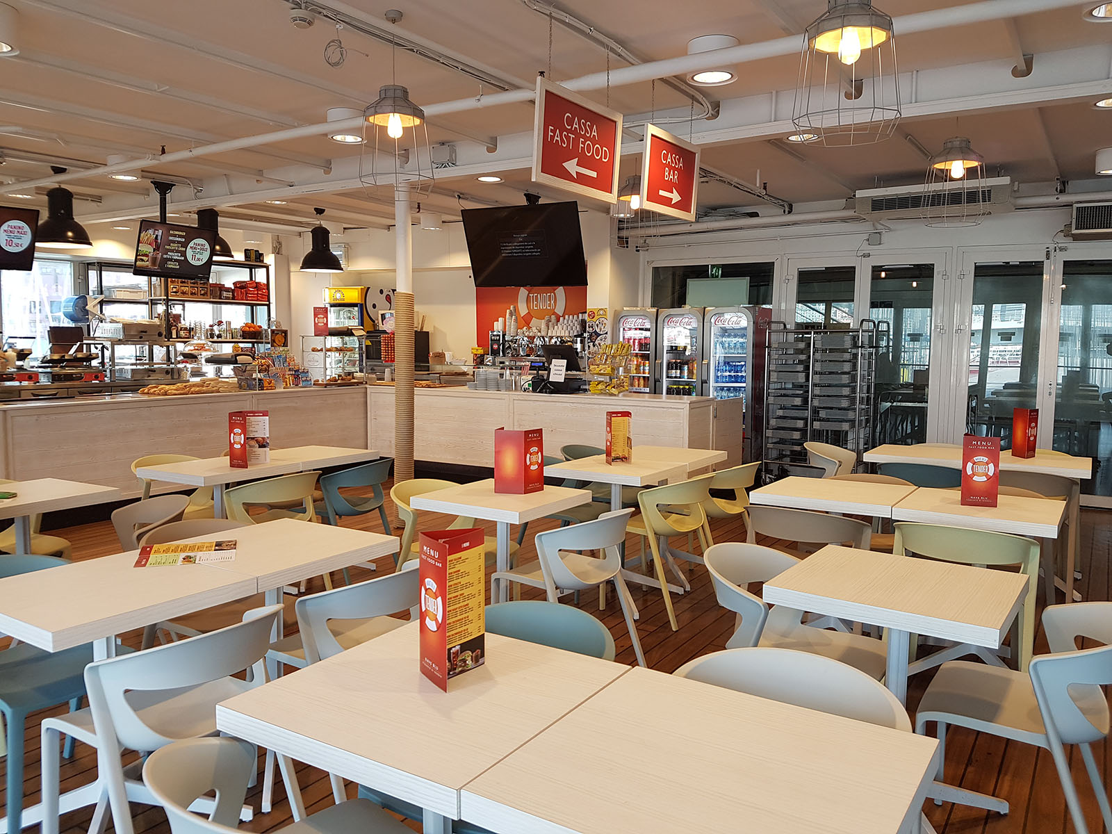 Seafood Bar: il Tender Fast Food bar Acquario di Genova