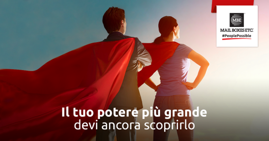 Mail Boxes Etc. franchising servizi postali: cerca affiliati col fattore #PeoplePossible