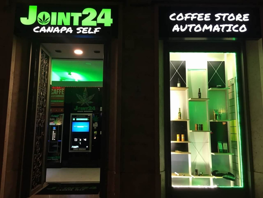 Joint24 franchising: la cannabis si vende in automatico